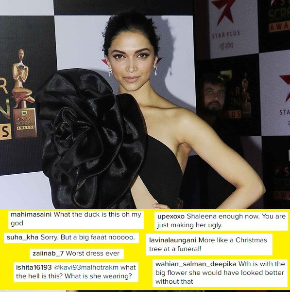 Deepika gets trolled for her outfit again