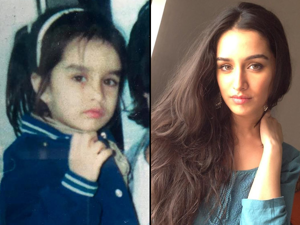 Shraddha Kapoor Bollywood Celebrities Childhood Pic