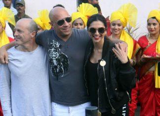 Vin Diesel Deepika Padukone Mumbai