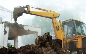 Munnar eviction begins
