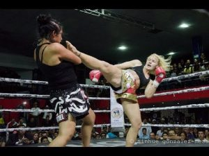 Valentina Shevchenko Kickboxing