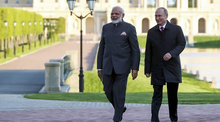 PM Narendra Modi reached Russia to meet Putin