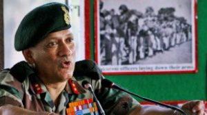 Army Chief Bipin Rawat had warned of insurgency in early Nov