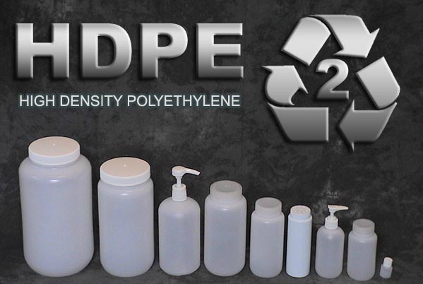 HDPE-containers