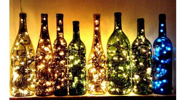 Upcycled-Bottle-Fairy-Lights