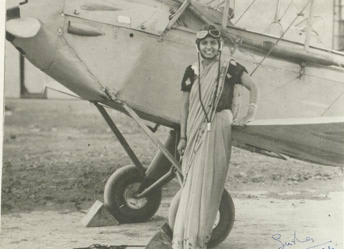 First-Indian-Lady-Pilot