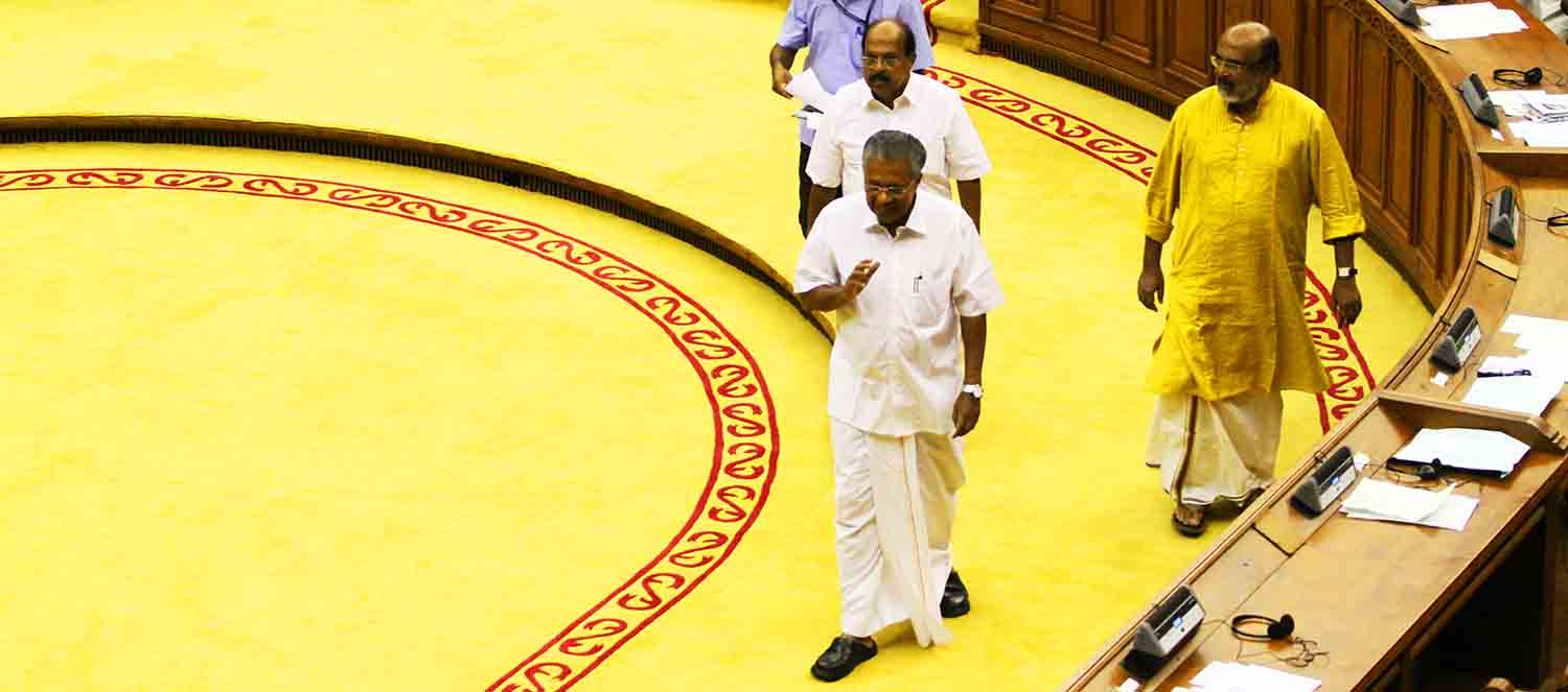 Pinarayi writes to Central Government