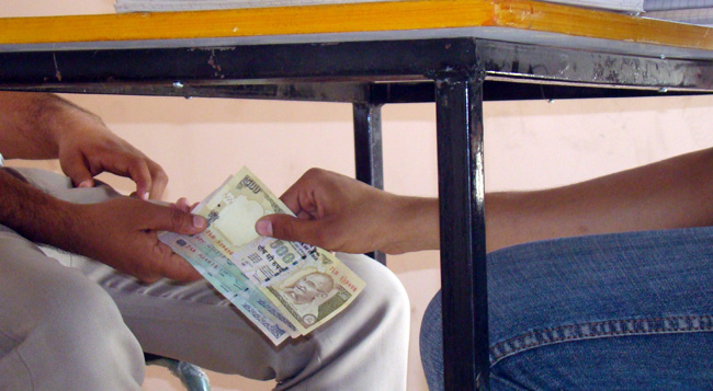 bribe should ban bribery case convicts from election village office assistant caught for bribery case