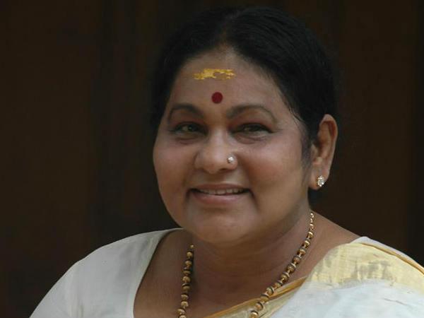 KPAC lalitha visits dileep