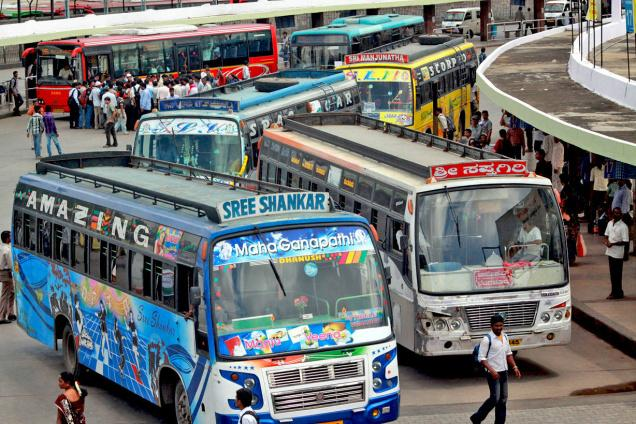 private bus strike begin today