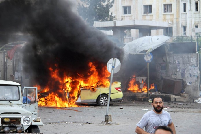 conflict continues at syria