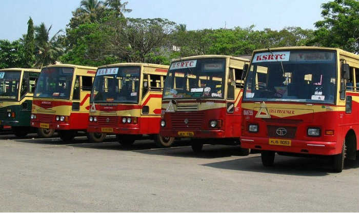 ksrtc ticket KSRTC bus trike KSRTC to increase charge on busy days cant help KSRTC more says govt