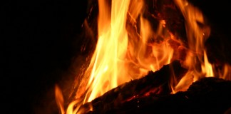 fire woman found burnt at firewood store room