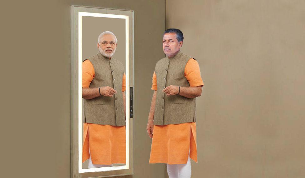 Modi and pinarayi
