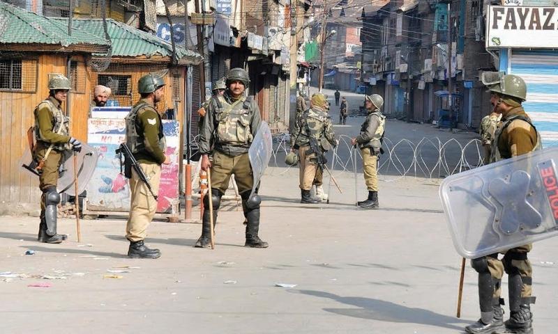 security tightened in srinagar