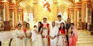 muktha baby baptism