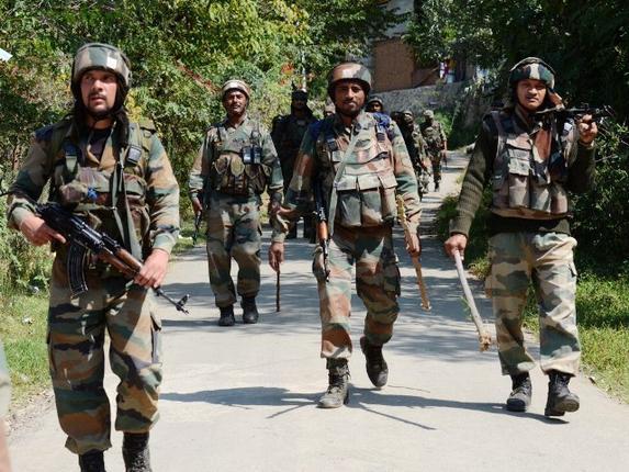 terrorist attack jammu kashmir firing one killed