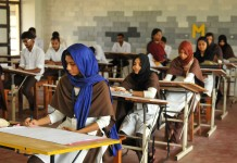 exams postponed second year VHSE result 15