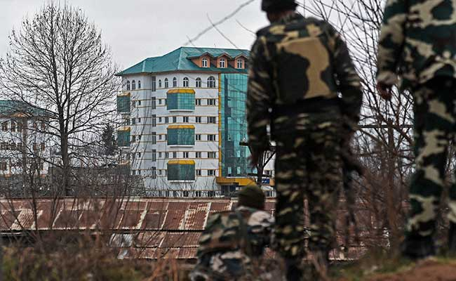terror attack at pampore