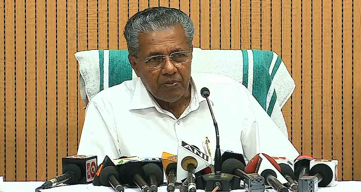 pinarayi pinarayi vijayan announces 10 lakhs as relief fund okhi cyclone 20 lakhs for those dead in ockhi cyclone disaster ockhi disaster pinarayi vijayan announces 20 lakh for deceased