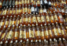 twentyfournews-liquor-seized liquor worth 30 lakhs spoiled