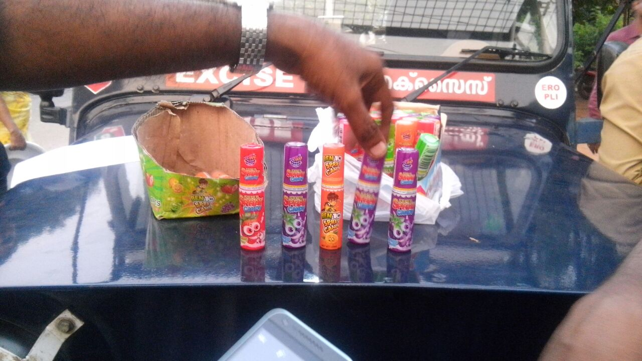 using-spray-to-narcotice
