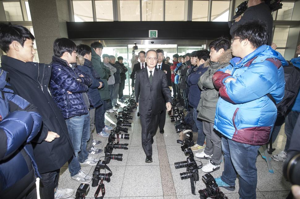 News photographers refuse to take photos