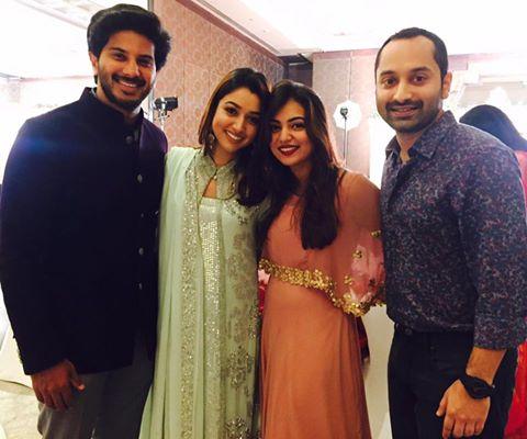 dulqar and fahad with family