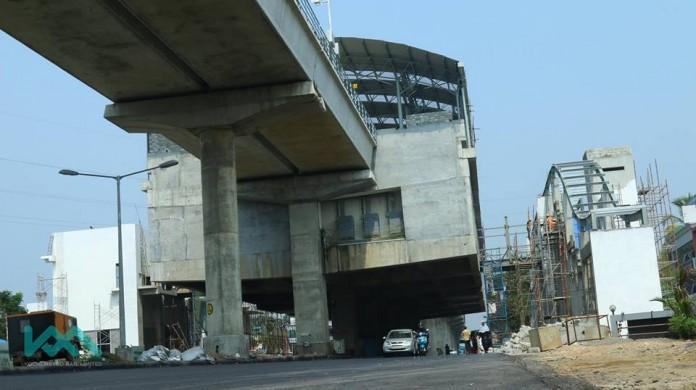 cusat metro station