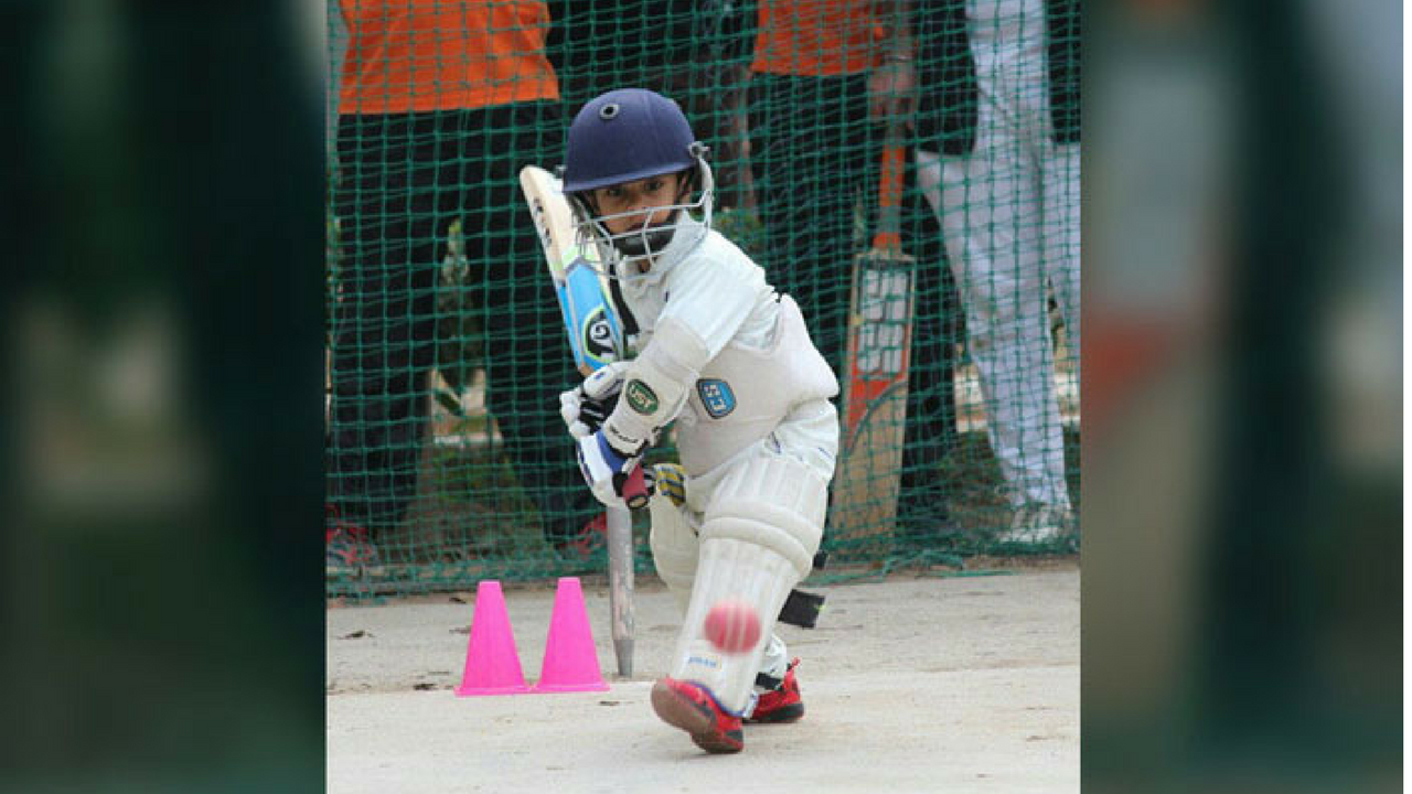 4 year old cricketer