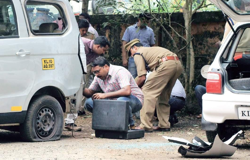 bomb blast malappuram