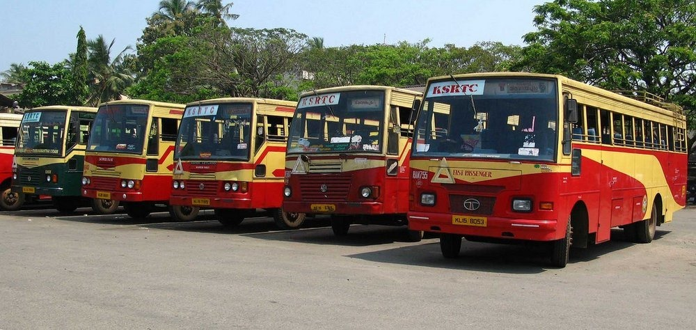 ksrtc will not accept old note onam gift for kasargod natives