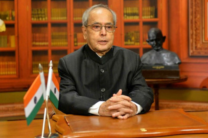 pranab-mukherji wont compete for president post says pranab mukherjee