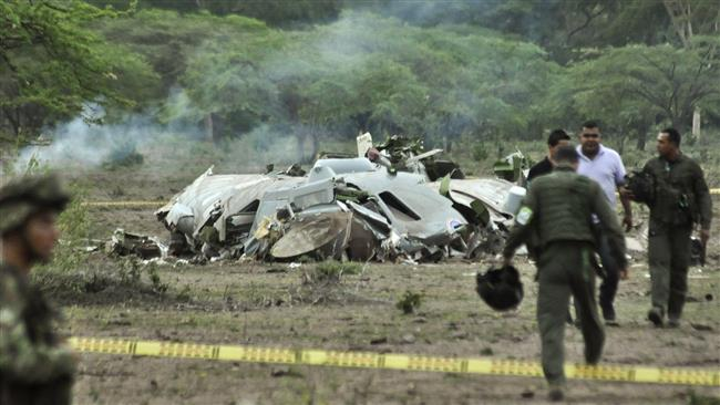 Columbia plane crash