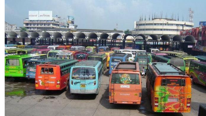 kozhikkode bus strike on 16th