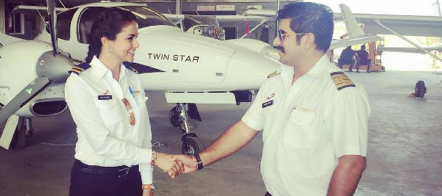 actress gul panag turns pilot