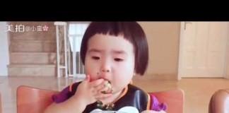 china child eating too much