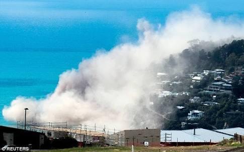 earthquake at newzealand