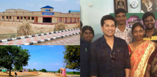 village adopted by sachin