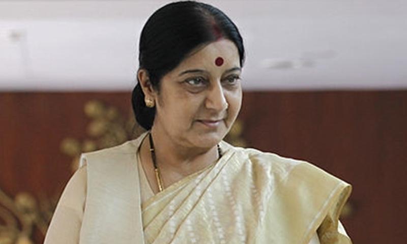 sushma swaraj kidney transplantation sushma swaraj contempts pakistan for misbehaving with kulbhushan yadav family