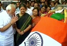 Prez PM comes for Jaya funeral