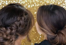 elegant hair updo