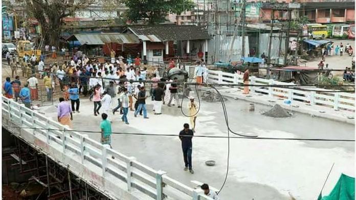 panthalam bridge inauguration