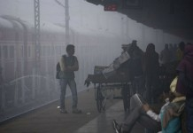 train delay due to fog