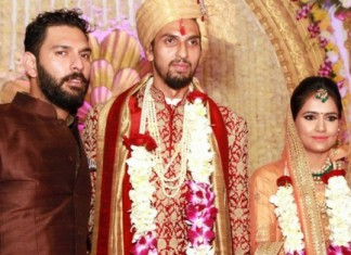ishanth sharma wedding pics