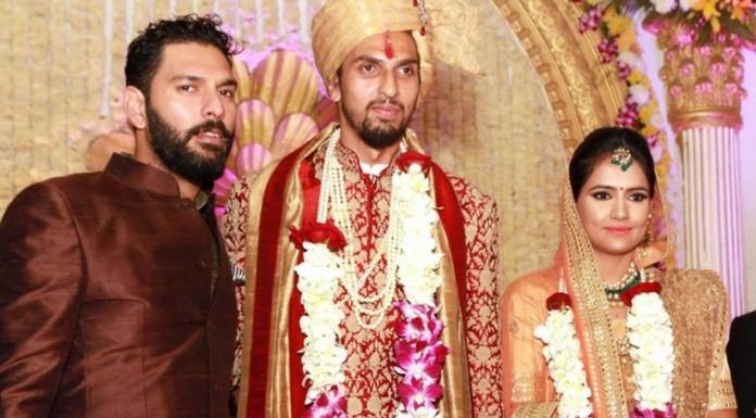 ishanth sharma wedding pics