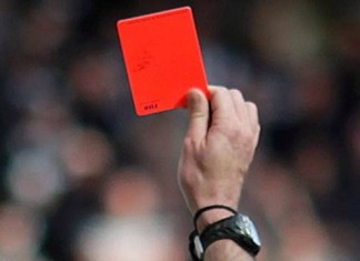 red-card for cricket