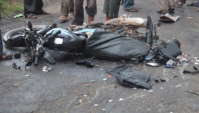 attingal bike bus accident