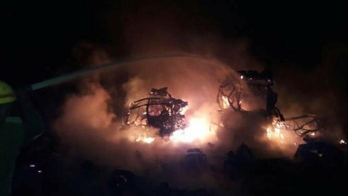Over 900 cylinder blast in Chikkaballapura district