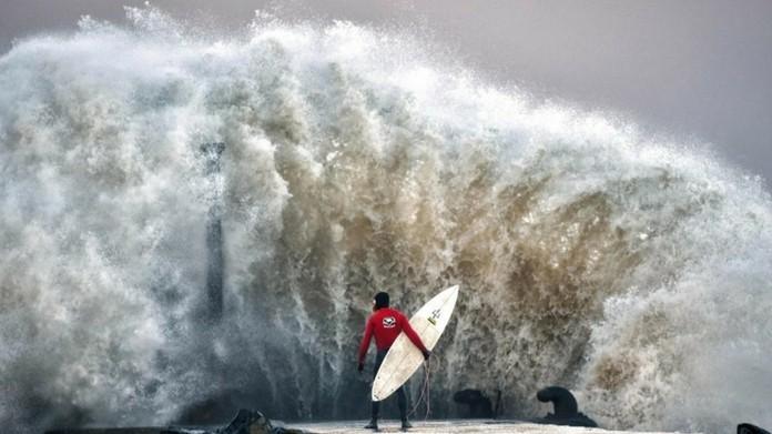 Storm Barbara strikes UK